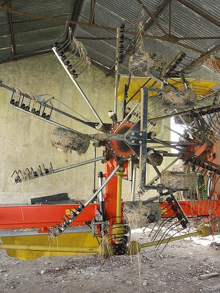 Gellenoncourt (M-et-M) machine agricole