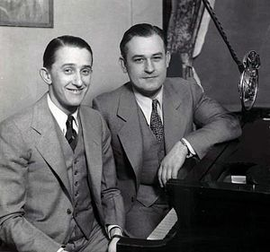 WTAM - Gene Carroll and Glenn Rowell in 1935