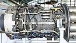 General Electric J47-GE-27 turbojet engine compressor section left side view at Hamamatsu Air Base Publication Center November 24, 2014.jpg