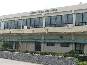 General Santos International Airport, taken on...