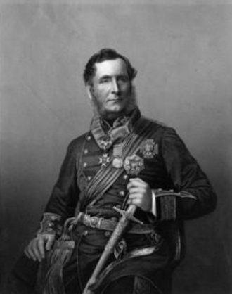 102nd Regiment of Foot (Royal Madras Fusiliers) - General Sir Robert Vivian, colonel of the regiment in the 1860s