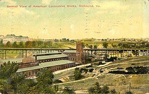 Richmond Locomotive Works - Richmond Locomotive Works in 1911, after merger with ALCO
