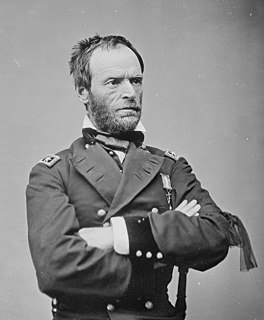 William Tecumseh Sherman US Army general, businessman, educator, and author