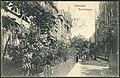Georg Kugelmann PC 0000 Verlag von Fritz Otto, Hannover, Buschstraße, Bildseite, Blick im Jahr 1907 durch die spätere Kortumstraße (Südstadt) in nordöstliche Richtung.jpg
