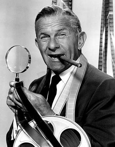 George Burns, American comedian, actor, and writer