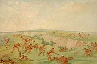 Mandan Attacking a Party of Arikara
