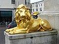 George III's lion, Weymouth - geograph.org.uk - 1840917.jpg