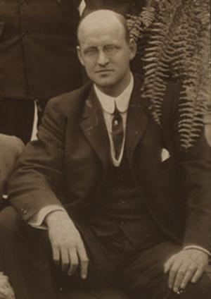 George Lee (American football) - Lee at Harvard reunion, 1909