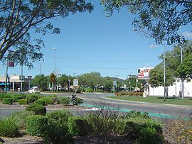George Road roundabout, Beenleigh.jpg