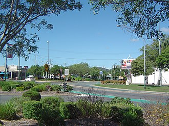 Beenleigh, Queensland - George Road roundabout