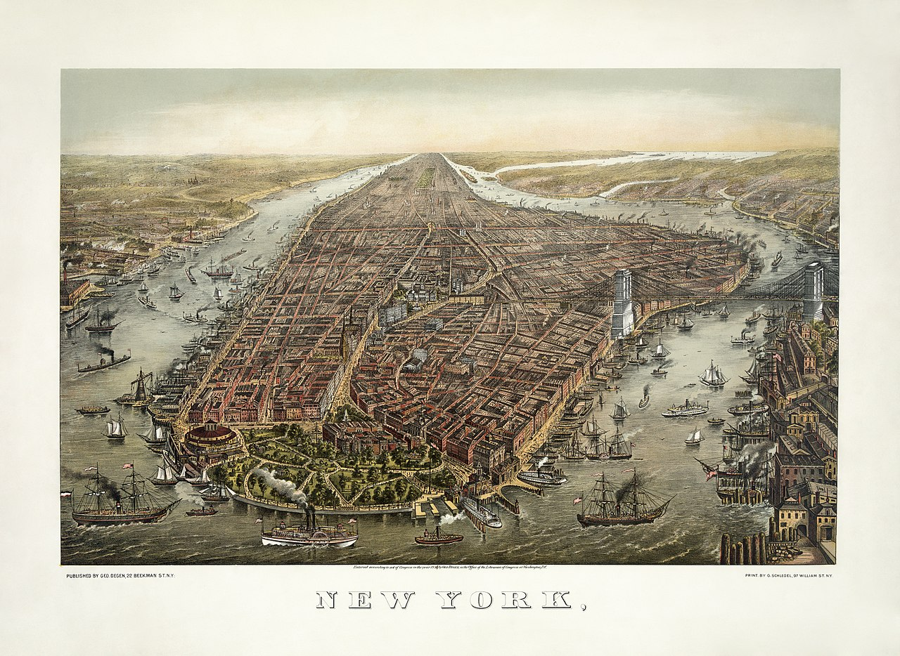history of new york city history of new york city