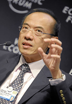 George Yeo - George Yeo at the World Economic Forum in 2010