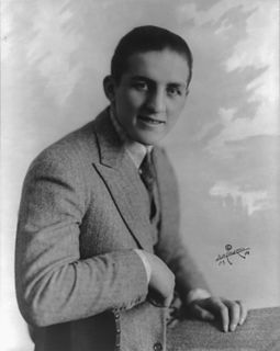 Georges Carpentier French boxer
