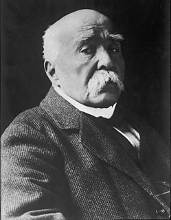 Georges Clemenceau French politician