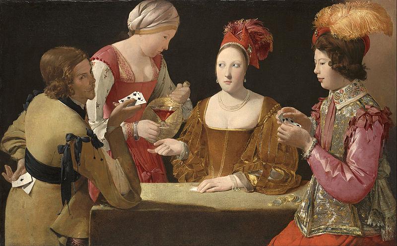 Paintings Featuring Gambling