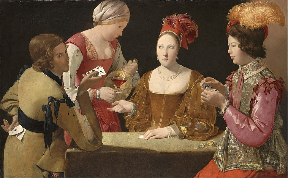 Georges de La Tour - The Cheat with the Ace of Clubs - Google Art Project