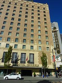 Hotel Georgia Vancouver