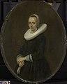 Gerard ter Borch (II) - Johanna Bardoel (gest. na 1667). Echtgenote van Gerard van der Schalcke. - SK-A-1785 - Rijksmuseum.jpg