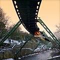 Germany - Wuppertal - Schwebebahn über der Wupper - panoramio.jpg