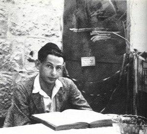 Gershom Scholem - Gershom Scholem in 1925