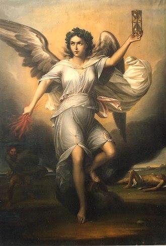 Nemesis (mythology) - Image: Gheorghe Tattarescu Nemesis, zeita razbunarii