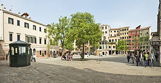 Ghetto - The main square of the Venetian Ghetto