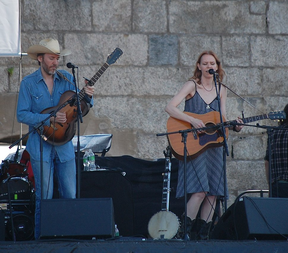 Gillian Welch and David Rawlings @ Newport Folk Festival 2009