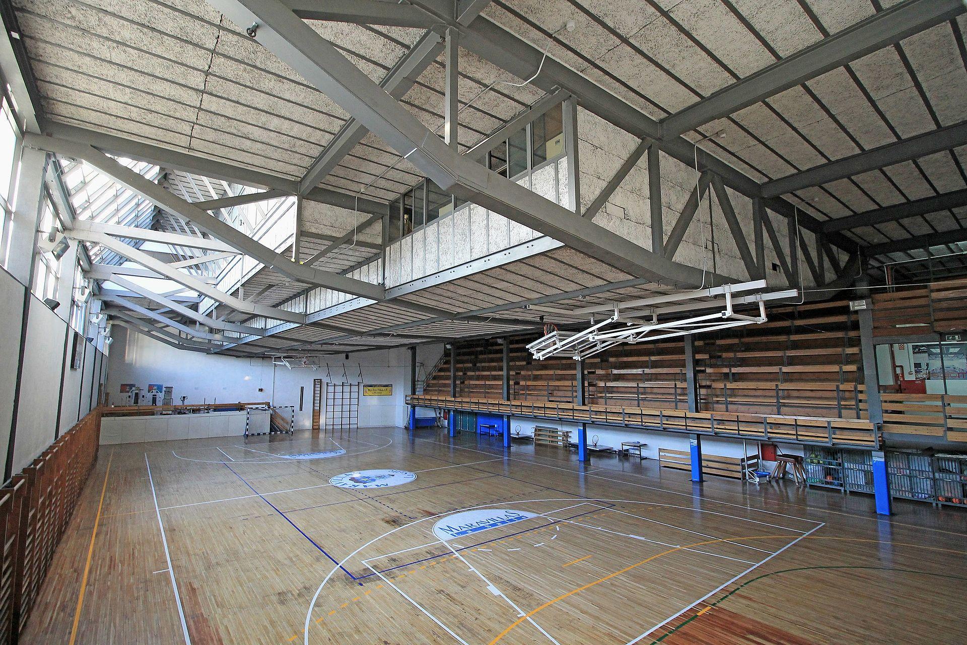 Gimnasio del colegio maravillas wikipedia la for Gimnasios madrid con piscina