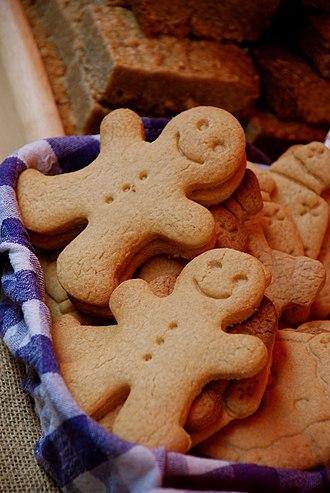 Gingerbread man - Image: Gingerbread men
