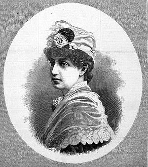 Esmeralda (opera) - Georgina Burns (1860–1932), Esmeralda in the 1883 premiere