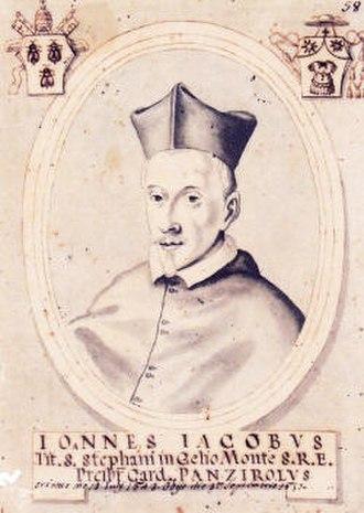 Giovanni Giacomo Panciroli - Portrait of Giovanni Giacomo Panciroli