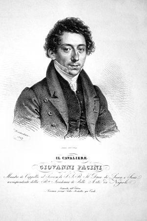 L'ultimo giorno di Pompei - Giovanni Pacini ca. 1827