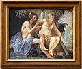 Giovanni da san giovanni, Storie mitologiche e veterotestamentarie, 1634-1635 circa, affresco su terracotta, ercole e onfale.jpg