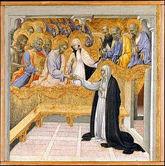 Le Mariage mystique de Sainte Catherine de Sienne