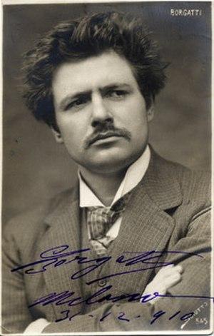 Andrea Chénier - Giuseppe Borgatti, the first Chenier