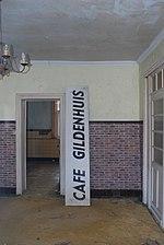Glabbeek dorp - café Gildenhuis van 1920 - binnenzicht rechter kamer