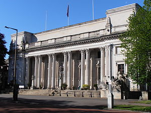 Glamorgan Building - Image: Glamorgan Building, Cardiff University