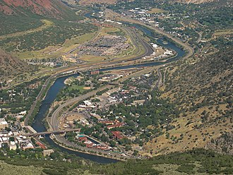 Glenwood Springs, Colorado - Glenwood Springs view from Lookout Mountain