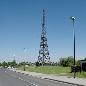Gliwice Radio Tower - Image: Gliwice Radiostacja DSC 9386