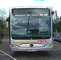 Go North East bus 5319 Mercedes Benz O530 Citaro NK08 MzW Ten livery Metrocentre rally 2009 pic 1.JPG