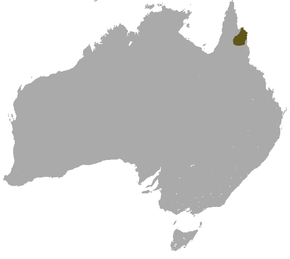 alt=Description de l'image Godman's Rock Wallaby area.png.