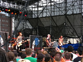 Goldfinger (band) American punk rock/ska punk band
