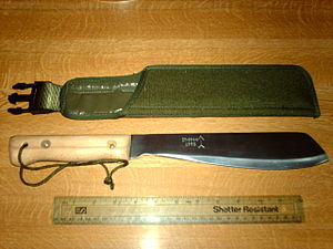 Golok - Martindale design is a modern representation of another traditional golok variant, the Golok Bangkung
