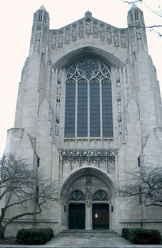 Bertram Goodhue - Rockefeller Chapel, University of Chicago