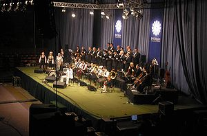 Goran Bregović - Goran Bregović Wedding and Funeral Orchestra in Donetsk: 15 March 2006.