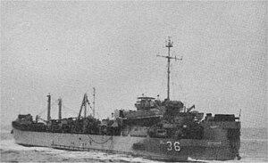 USS Gordius (ARL-36) - Image: Gordius ARL 36