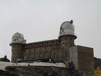 KOSMA - Image: Gornegrat Telescope