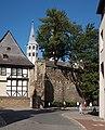 Goslar, die Neuwerkkirche vanaf die Mauerstrasse IMG 4722 2018-07-03 09.43.jpg