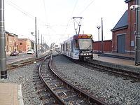 Gosselies tram Faubourg de Bruxelles.jpg