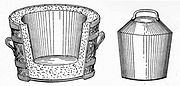Goux pail bucket and mould